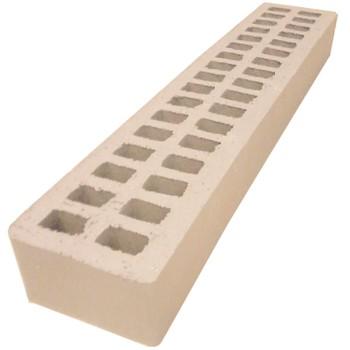 Кирпич АВС- клинкер лицевой М150/200 (490x95x52) сливки, Ригель формат 1,2НФ, Ревда