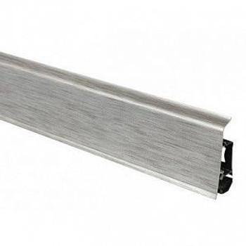 Плинтус Arbiton Indo 17, Алюминий, 2500х70х26 мм