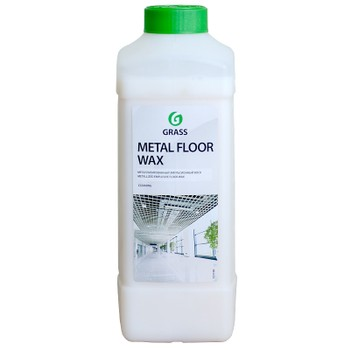 Средство Grass Воск для полов GRASS Metal floor wax 1л