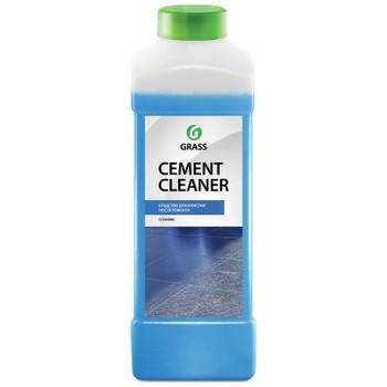 Средство Grass очиститель после ремонта GRASS Cement Cleaner синий, 1л