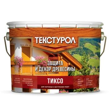 Средство для длительной защиты древесины Текстурол Тиксо Рябина, 10 л