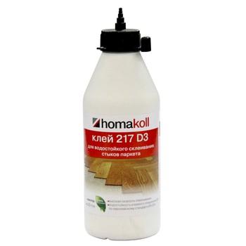 Клей Homakoll 217 D3 (для стыков паркета, 0,5 кг, не морозостойкий), 12шт/уп