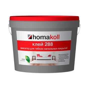 Клей Homakoll фиксация (288, 1 кг клей-фиксатор, 100-150 гр/м2, не морозостойкий)