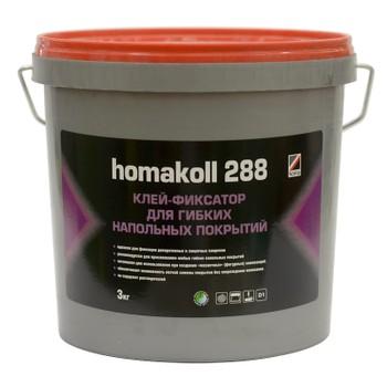 Клей Homakoll фиксация (288, 3 кг клей-фиксатор, 100-150 гр/м2, не морозостойкий)