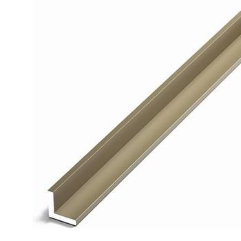 Уголок равнополочный (УП06, 2000.504 л, анод бронза, 20х20х1,5 мм)