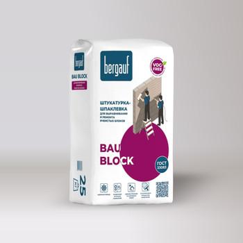 Штукатурка Bergauf Bau Block, 25 кг