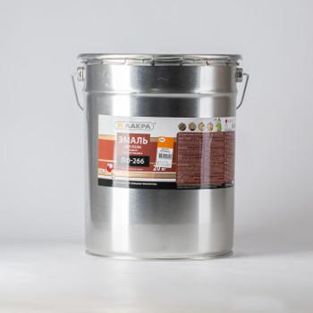 Эмаль ПФ-266 золотисто-коричневая (20кг) Лакра