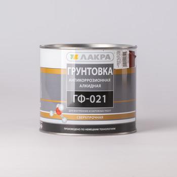 Грунт ГФ-021 красно-коричневый Лакра, 2,5 кг