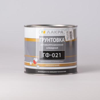 Грунт ГФ-021 серый Лакра, 2,5 кг