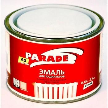 Эмаль PARADE А5 белая termo п/мат.(0,45 л)
