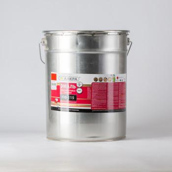 Эмаль ПФ-115 красная гл. (20кг) Лакра