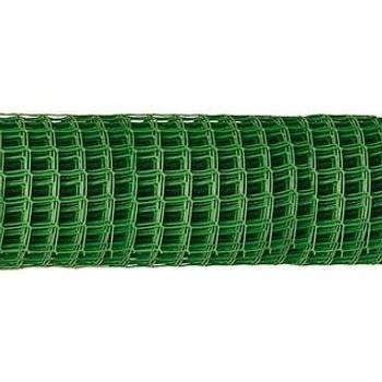 Заборная решетка ячея 55*58мм, рулон 1,9*10м (зеленый)