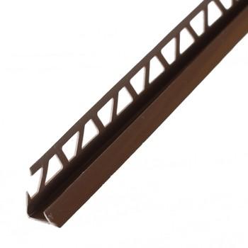 Закладка внут.Е7-8 д/кафеля 2,5 м (коричневый), 019