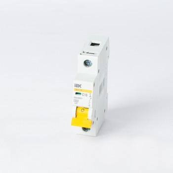 Автоматический выключатель однополюсный 16А IEK