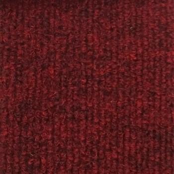 Ковровое покрытие Фэшн Стар 717 красный (4,0 м, красный, РР, иглопробивное, 680гр/м2, основа резина)