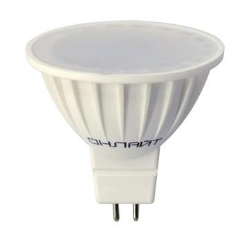 Лампа светодиодная 5Вт GU5.3 теплый свет Онлайт