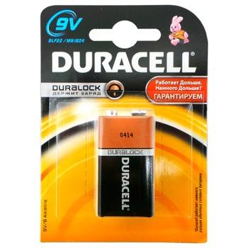 Батарейка 6LR61-1BL/6LF22 Duracell