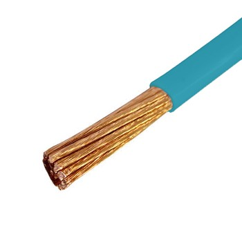 Провод ПуГВ 1*0,5 кв.мм голубой ГОСТ (Электрокабель Кольчугино)