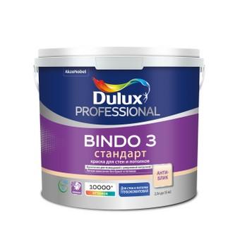 Краска Bindo-3 латексная глубоко мат., 5 л