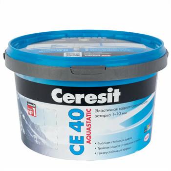 Затирка Ceresit CE 40 aquastatic бирюза, 2 кг