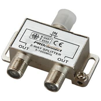 Краб на 2 ТВ под F разъем 5-1000 МГц