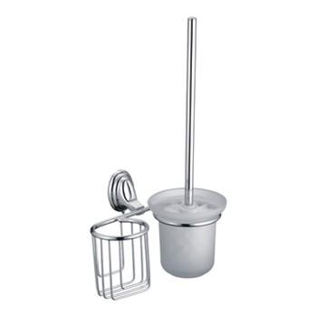 Настенный ершик+Держатель дезодоранта ACCOONA A11111-1 Хром