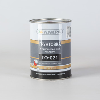 Грунт ГФ-021 красно-коричневый Лакра, 1 кг
