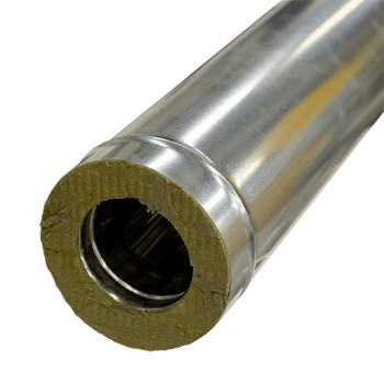 Дымоход-сэндвич 0,5м ф250х350 (430/0,5+оц.) FERRUM