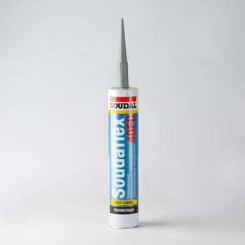 Герметик полиуретановый SOUDAL Soudaflex 40 FC, серый 310 мл