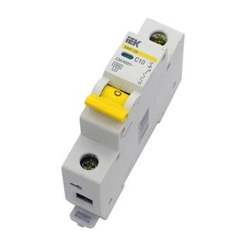 Автоматический выключатель однополюсной 10А IEK