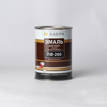 Эмаль ПФ-266 Лакра золотисто-коричневая, 1кг
