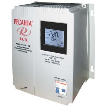 Стабилизатор напряжения АСН-5000 Н/1-Ц Ресанта Lux