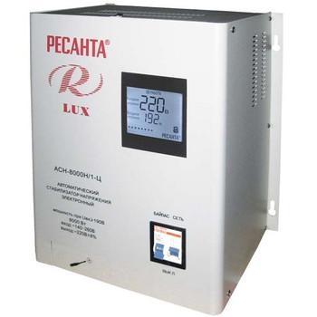Стабилизатор напряжения АСН-8000 Н/1-Ц Ресанта Lux