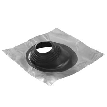 Проход универс. угл. черный, силикон №1 ф76-203 FERRUM