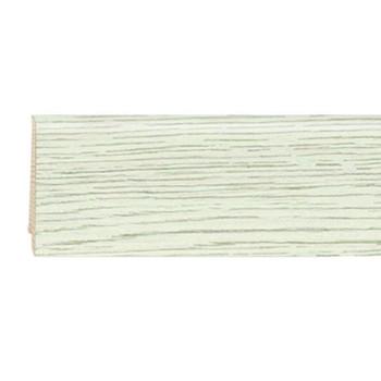 Плинтус шпонированный Tarkett New ART высокий (Уайт вэддинг/ WHITE WEDDING, 80х20х2400 мм, 559541061)