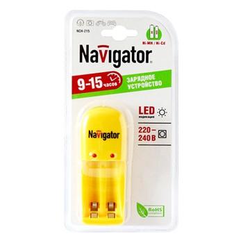 Устройство зарядное 2 батарейки Navigator