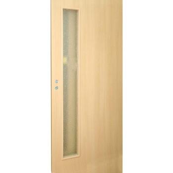 Дверное полотно Olovi L3 3D М10х21 ламинат Бук (под остекление)