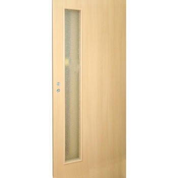 Дверное полотно Olovi L3 3D М7х21 ламинат Бук (под остекление)
