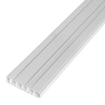 Карниз для штор трехрядный 2,0м 90мм