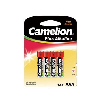 Элемент питания ААА LR03 (4шт) Camelion