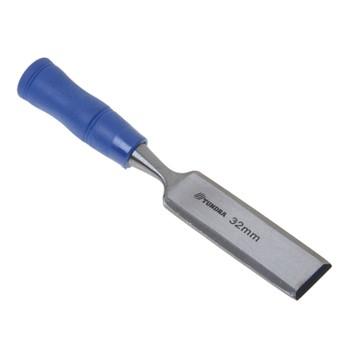Стамеска плоская с пластмассовой ручкой 32 мм