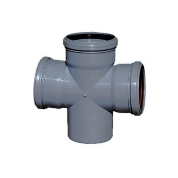 Крестовина канализационная 110х110х110х87,5гр