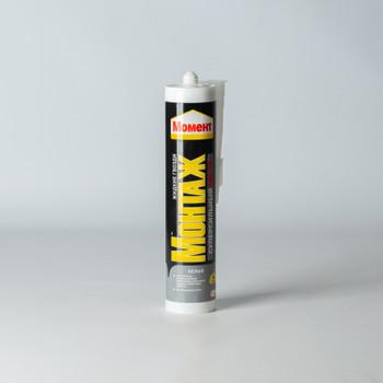Жидкие гвозди Момент Монтаж Суперсильный МВ-70, (белый), 400г