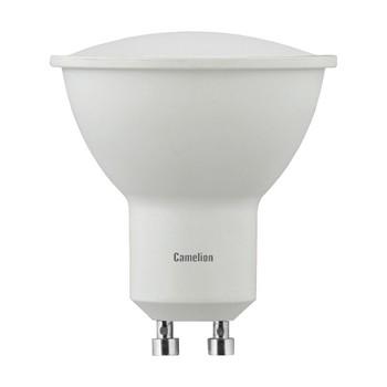 Лампа светодиодная 5Вт GU10 холодный свет Camelion
