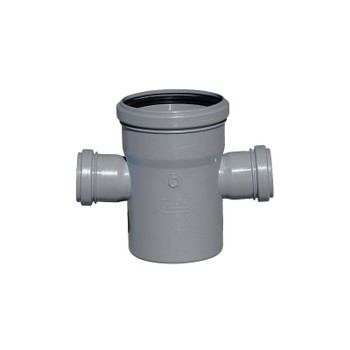 Крестовина канализационная 110х50х50х87,5гр РТП