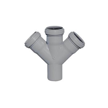 Крестовина канализационная 50х50х50х45гр РТП
