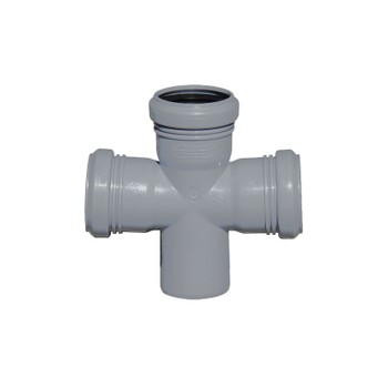Крестовина канализационная 50х50х50х87,5гр РТП
