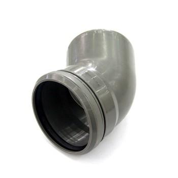 Отвод канализационный 110х45гр РТП
