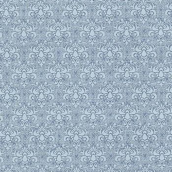 Обои ЭРИСМАНН, Коллекция Glory 1,06 (уп. 9 рул) (2938-5, 1,06х10 м, Вспененный винил на флизелиновой основе, Фон к вензелям, Синий)