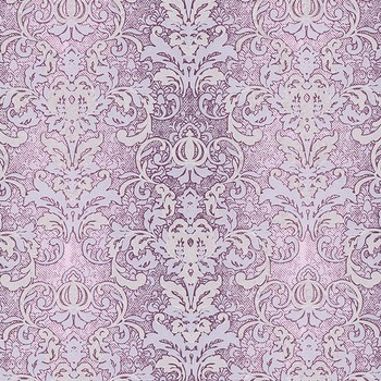 Обои ЭРИСМАНН, Коллекция Glory 1,06 (уп. 9 рул) (2937-6, 1,06х10 м, Вспененный винил на флизелиновой основе, Вензеля, Фиолетовый)